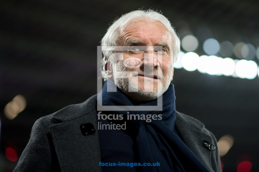 Rudi Voeller, Sports Director of Bayer Leverkusen during the Bundesliga match at BayArena, Leverkusen<br /> Picture by EXPA Pictures/Focus Images Ltd 07814482222<br /> 28/01/2017<br /> *** UK &amp; IRELAND ONLY ***<br /> <br /> EXPA-EIB-170128-1312.jpg