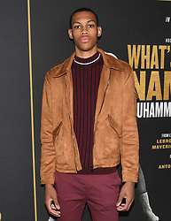 May 8, 2019 - Los Angeles, California, USA - 08, May 2019 - Pasadena, California.  Darius Bazley attends 'What's My Name | Muhammad Ali' HBO Documentary Premiere at Regal Cinemas LA LIVE 14 in Los Angeles, California. (Credit Image: © Billy Bennight/ZUMA Wire)