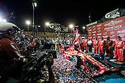 1-2 April, 2016, Avondale, Arizona USA<br /> Scott Dixon celebrates his win in Gatorade Victory Lane<br /> &copy;2016, Sam Cobb<br /> LAT Photo USA