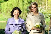 State visit of the Swedish king Carl XVI Gustaf and queen Silvia van Zweden to the Netherlands.<br />
