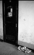 Roma Giugno 2000.Carcere di Rebibbia N.C..Il rifiuto del cibo, come forma di protesta, dei detenuti per il sovraffollamente del carcere....Rome June 2000.Prison Rebibbia N.C..The refusal of food as a form of protest, of the prisoners due to overcrowding of the prison.