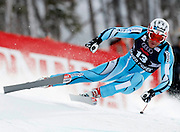 Aksel Lund Svindal of Norway skis to win the men's World Cup downhill ski race in Beaver Creek, Colorado December 5, 2008. REUTERS/Rick Wilking (UNITED STATES)