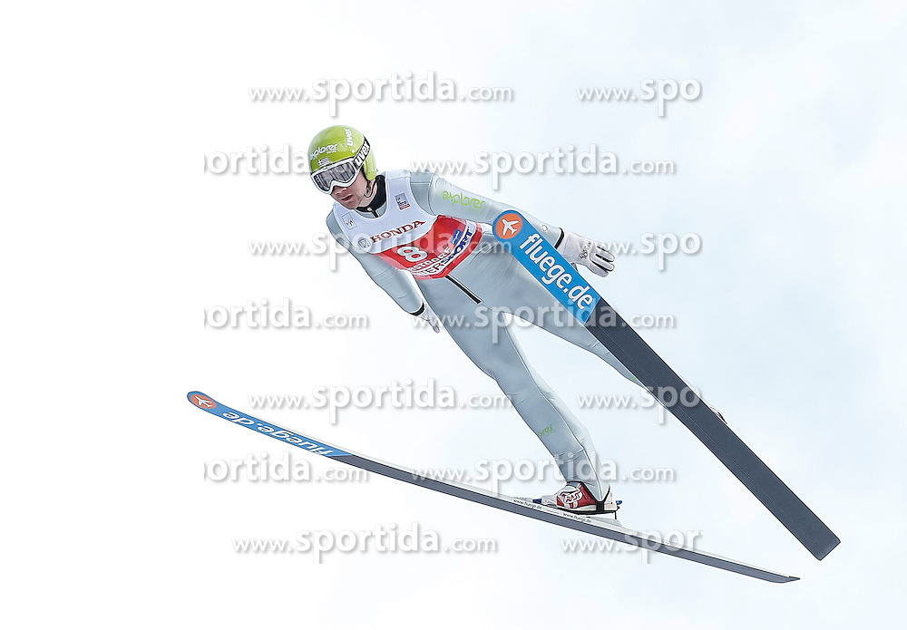 28.12.2013, Schattenbergschanze, Oberstdorf, GER, FIS Ski Sprung Weltcup, 62. Vierschanzentournee, Training, im Bild Nico Polychronidis (GER) // Nico Polychroidis of Greece during practice Jump of 62th Four Hills Tournament of FIS Ski Jumping World Cup at the Schattenbergschanze, Oberstdorf, Germany on 2013/12/28. EXPA Pictures © 2013, PhotoCredit: EXPA/ Peter Rinderer