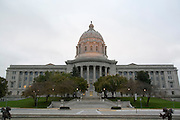 Jefferson City, Missouri MO USA, The Missouri state capitol building October 2006