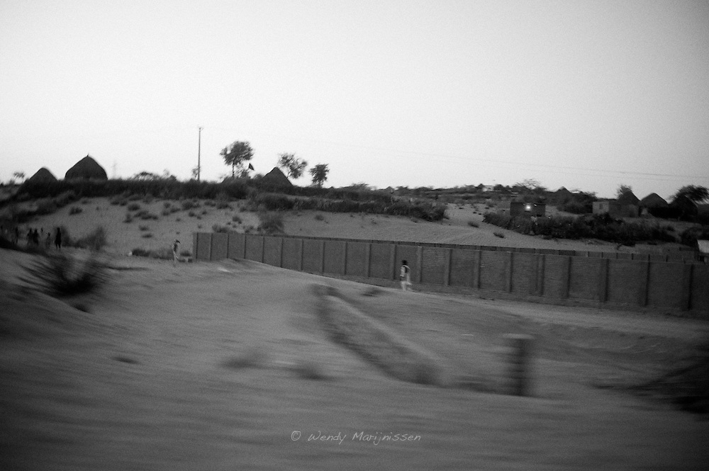 Conditions in the rural and desert area of Pakistan are very rough. Lots of people are living in huts and lacking basic facilities like electricity and water. .In these areas the maternal and neonatal mortality rates are the highest. .Mithi, Tharparkar, Pakistan 2010