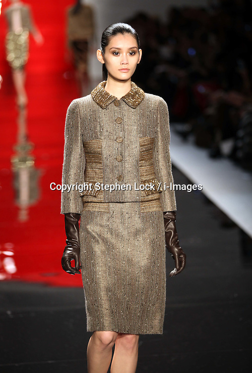 Reem Acra show at New York Fashion Week.  Photo by: Stephen Lock / i-Images