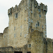 Tower of the castle at Killarney, Ireland