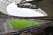 Hull City KCOM stadium before the second round of the Carabao EFL Cup match between Hull City and Derby County at the KCOM Stadium, Kingston upon Hull, England on 28 August 2018, Photo by Ian Lyall.