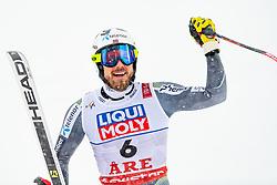February 9, 2019 - …Re, SWEDEN - 190209 Kjetil Jansrud of Norway celebrates after competing in men's downhill during the FIS Alpine World Ski Championships on February 9, 2019 in Ã…re..Photo: Joel Marklund / BILDBYRÃ…N / kod JM / 87853 (Credit Image: © Joel Marklund/Bildbyran via ZUMA Press)