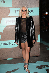 May 3, 2018 - New York, NY, USA - May 3, 2018  New York City..Kitty Cash attending Tiffany & Co. 'Paper Flowers' jewelry collection launch on May 3, 2018 in New York City. (Credit Image: © Kristin Callahan/Ace Pictures via ZUMA Press)