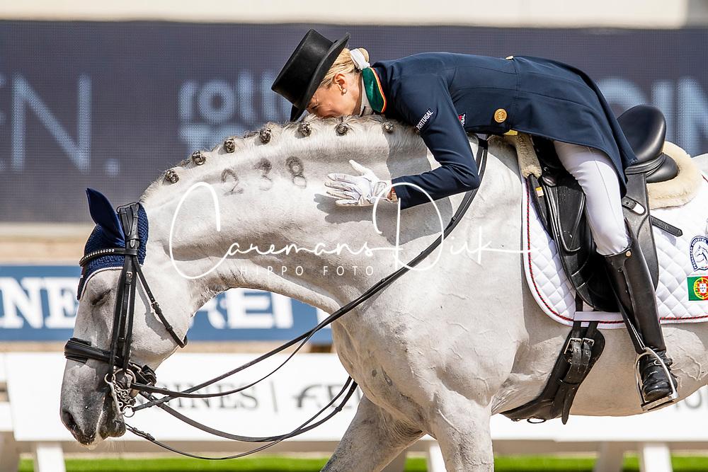 Caetano Maria, POR, Coroado<br /> European Championship Dressage<br /> Rotterdam 2019<br /> © Hippo Foto - Dirk Caremans