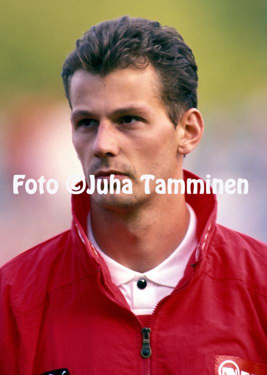 13.05.1993, Turku, Finland..FIFA World Cup qualifying match, Finland v Austria .Michael Zisser - Austria.©JUHA TAMMINEN