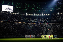 08.01.2017, Juventus Stadium, Turin, ITA, Serie A, Juventus Turin vs FC Bologna, 19. Runde, im Bild un minuto di silenzio // a minute of silence during the Italian Serie A 19th round match between Juventus Turin and Bologna FC at the Juventus Stadium in Turin, Italy on 2017/01/08. EXPA Pictures © 2017, PhotoCredit: EXPA/ laPresse/ Daniele Badolato<br /> <br /> *****ATTENTION - for AUT, SUI, CRO, SLO only*****
