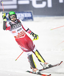 12.02.2019, Aare, SWE, FIS Weltmeisterschaften Ski Alpin, Teambewerb, im Bild Michael Matt (AUT) // Michael Matt (AUT) during Team competition of FIS Ski World Championships 2019. Aare, Sweden on 2019/02/12. EXPA Pictures © 2019, PhotoCredit: EXPA/ Dominik Angerer