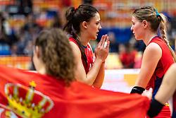 20-10-2018 JPN: Final World Championship Volleyball Women day 21, Yokohama<br /> Serbia - Italy 3-2 / Stefana Veljkovic #11 of SerbiaTijana Boskovic #18 of Serbia1/