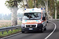 20131009 AMBULANZA VERSO OSPEDALE DI CONA IN VIA COMACCHIO