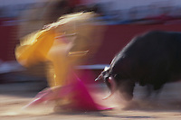 Arles, France --- Bullfight during Feria de Paques ---  © Owen Franken
