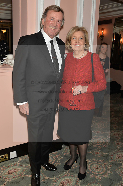 SIR TERRY WOGAN and ANNE REID at the Oldie Magazine's Oldie of The Year Awards held at Simpson's In The Strand, London on 4th February 2014.