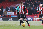 John Fleck of Sheffield United (4) during the EFL Sky Bet Championship match between Sheffield United and Nottingham Forest at Bramall Lane, Sheffield, England on 17 March 2018. Picture by Mick Haynes.