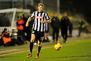 Jonathan Stead (30) of Notts County on the attack during the EFL Sky Bet League 2 match between Plymouth Argyle and Notts County at Home Park, Plymouth, England on 28 February 2017. Photo by Graham Hunt.