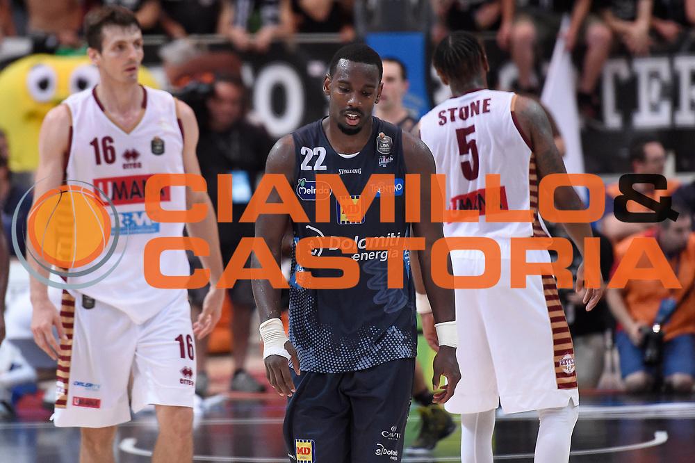 Dustin Hogue<br /> Dolomiti Energia Aquila Basket Trento - Umana Reyer Venezia<br /> Lega Basket Serie A 2016/2017<br /> Playoff, finale gara 3<br /> Trento, 14/06/2017<br /> Foto M.Ceretti / Ciamillo-Castoria