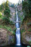 Multnomah Falls in the scenic Columbia River Gorge