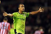 Football - Premier League - Sunderland vs. Aston Villa<br /> Gabriel Agbonlahor (Aston Villa) at the Stadium of Light