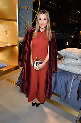 JULIET ANGUS at the launch of the new Frette store at 43 South Audley Street, London on 6th October 2016.