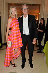 ERIC & LISA WATSON at the QBF Spring Gala in aid of the Red Cross War Memorial Children's Hospital hosted by Heather Kerzner and Jeanette Calliva at Claridge's, Brook Street, London on 12th May 2015.