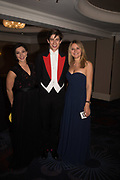 SAVANNAH PRICE; TOM SCROPE; LIVIA DAXENBERGER, The Royal Caledonian Ball 2017, Grosvenor House, 29 April 2017