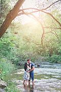 Jennifer & Jordan's Summer Evening Engagement