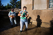 """Rescue crews from """"Four Paws"""" operate in Obrenovac, Serbia<br /> <br /> Matt Lutton / Boreal Collective<br /> <br /> Flooding in Serbia"""