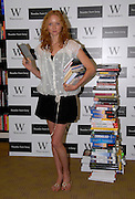 ©Retna Pictures / Mark Larner. Picture shows model Lilly Cole  launch of new Reader from Sony at Waterstones, Piccadilly, London. 3rd September, 2008.