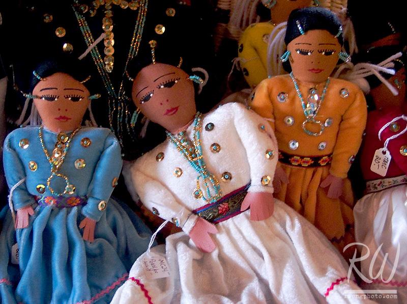 Native American Dolls at Hubbell Trading Post National Historic Site, Ganado, Arizona