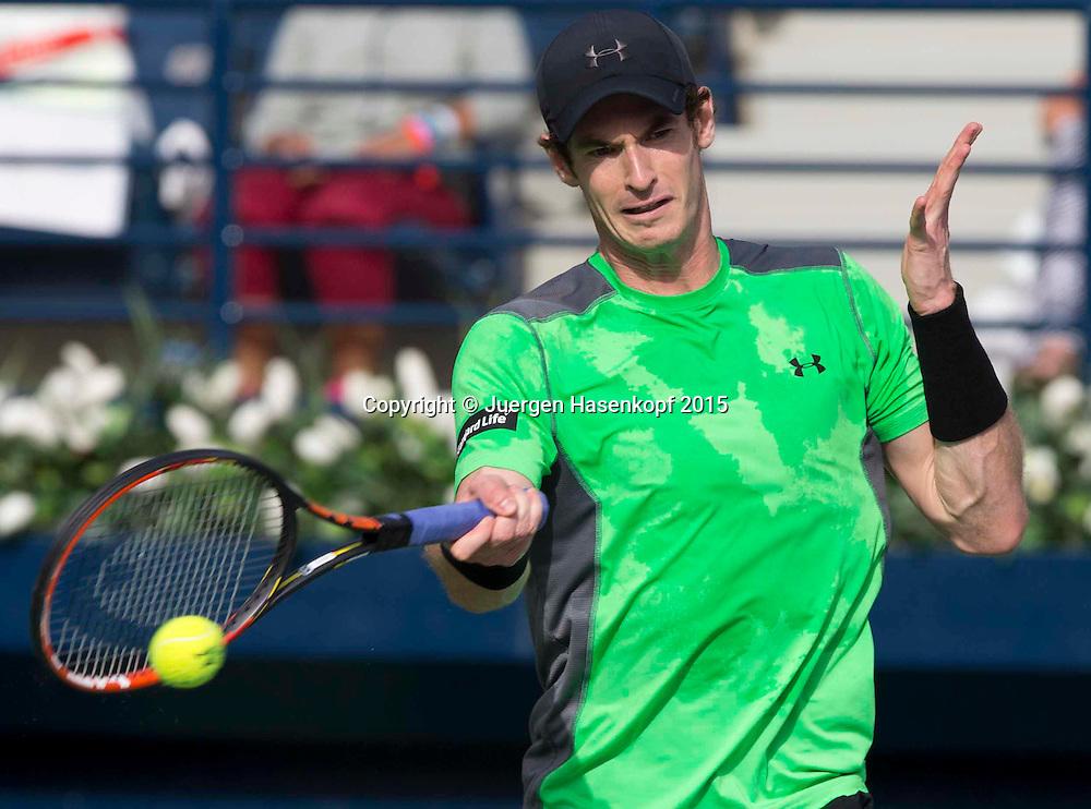 Andy Murray (GBR)<br /> <br /> Tennis - Dubai Duty Free Tennis Championships - ATP -   - Dubai -  - United Arab Emirates  - 26 February 2015. <br /> &copy; Juergen Hasenkopf