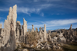 """Tufas at Mono Lake 9"" - These tufas were photographed at the South Tufa area in Mono Lake, California."