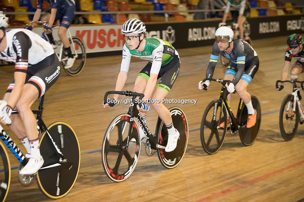 28-12-2017: Wielrennen: NK Baan: Alkmaar<br />Maikel Zijlaard