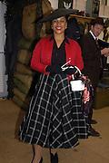 Nimmy Burke, ( Mrs. Gavin Burke) Goodwood Revival Meeting. Saturday 17 September 2005.  ONE TIME USE ONLY - DO NOT ARCHIVE  © Copyright Photograph by Dafydd Jones 66 Stockwell Park Rd. London SW9 0DA Tel 020 7733 0108 www.dafjones.com