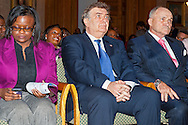 January 11, 2012 - Brooklyn, New York, USA: NYPD New York City Police Commissioner Ray Kelly in audience shortly before delivering Keynote Speech at 2nd Annual Interfaith Memorial Service for Haiti, Wednesday night at Brooklyn Borough Hall. The service was held two years after the Mw 7.0 earthquake at Haiti.