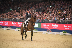 Verliefden Fanny, (BEL), Annarico<br /> Grand Prix Freestyle <br /> Reem Acra FEI World Cup Dressage <br /> London International Horse Show<br /> © Hippo Foto - Jon Stroud