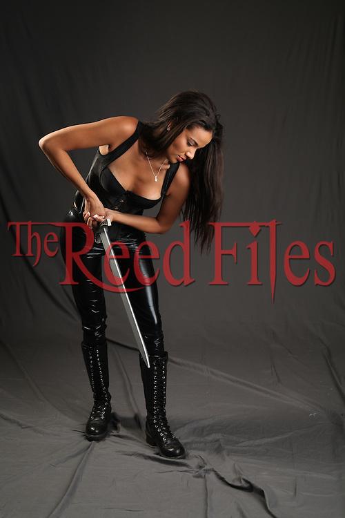 The Reed Files Urban Fantasy Woman Stock Image