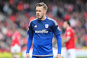 Cardiff City midfielder, Craig Noone (11) during the Sky Bet Championship match between Bristol City and Cardiff City at Ashton Gate, Bristol, England on 5 March 2016. Photo by Shane Healey.