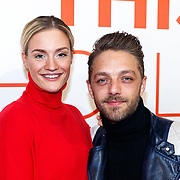 NLD/Amsterdam/20180201 - Presentatie This is Holland, Michelle Splietelhof met partner Tommy Christiaan