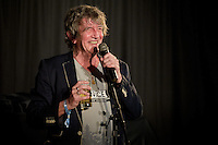 20130320 Anthony Upton Copyright image 2013©..Altitude Comedy Festival 2013 .Howard Marks, at the Arena, Mayrhofen, Austria, during the Altitude Comedy Festival, 18-22nd March. The 2013 Altitude Comedy Festival is in it's second successful year, at Mayrhofen, mixing comedy and music for an international audience, taking 'Apres Ski' to a new level...For further info - Please contact Katy Emani - +44 7811 216245.katy@getinvolvedltd.com..For photographic enquiries please call Anthony Upton 07973 830 517 or email info@anthonyupton.com .This image is copyright Anthony Upton 2013©. This image has been supplied by Anthony Upton and must be credited Anthony Upton. The author is asserting his full Moral rights in relation to the publication of this image. All rights reserved. Rights for onward transmission of any image or file is not granted or implied. Changing or deleting Copyright information is illegal as specified in the Copyright, Design and Patents Act 1988. If you are in any way unsure of your right to publish this image please contact Anthony Upton on +44(0)7973 830 517 or info@anthonyupton.com