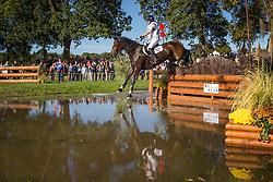 French Piggy (GBR) - Carpe Diem IV<br /> Cross country 7 years old horses<br /> Mondial du Lion - Le Lion d'Angers 2014<br /> © Dirk Caremans<br /> 18/10/14