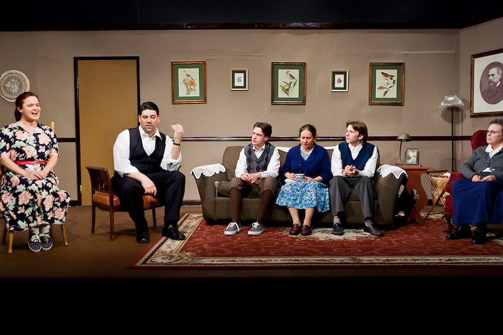 "Dreamweavers Theatre Troupe presents ""Lost in Yonkers"" by Neil Simon. Photo by Mike Padua."