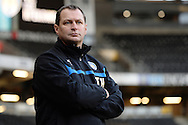 Colchester United Manager Tony Humes during the Sky Bet League 1 match between Milton Keynes Dons and Colchester United at stadium:mk, Milton Keynes<br /> Picture by Richard Blaxall/Focus Images Ltd +44 7853 364624<br /> 29/11/2014