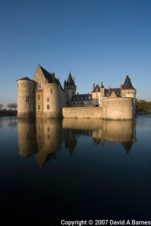 Sully Chateau, Loiret, Loire Valley, France