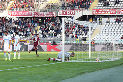 November 19, 2017 - Turin, Piedmont, Italy - Daniele Baselli (Torino FC) scores during the Serie A football match between Torino FC and AC Chievo Verona at Olympic Grande Torino Stadium on 19 November, 2017 in Turin, Italy. (Credit Image: © Massimiliano Ferraro/NurPhoto via ZUMA Press)