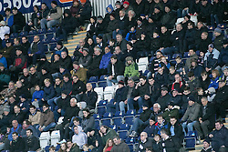 South stand during the second half. <br /> Falkirk 5 v 0 Alloa Athletic, Scottish Championship game played at The Falkirk Stadium. &copy; Ross Schofield